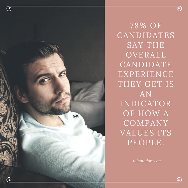 78 candidates expereince company values people
