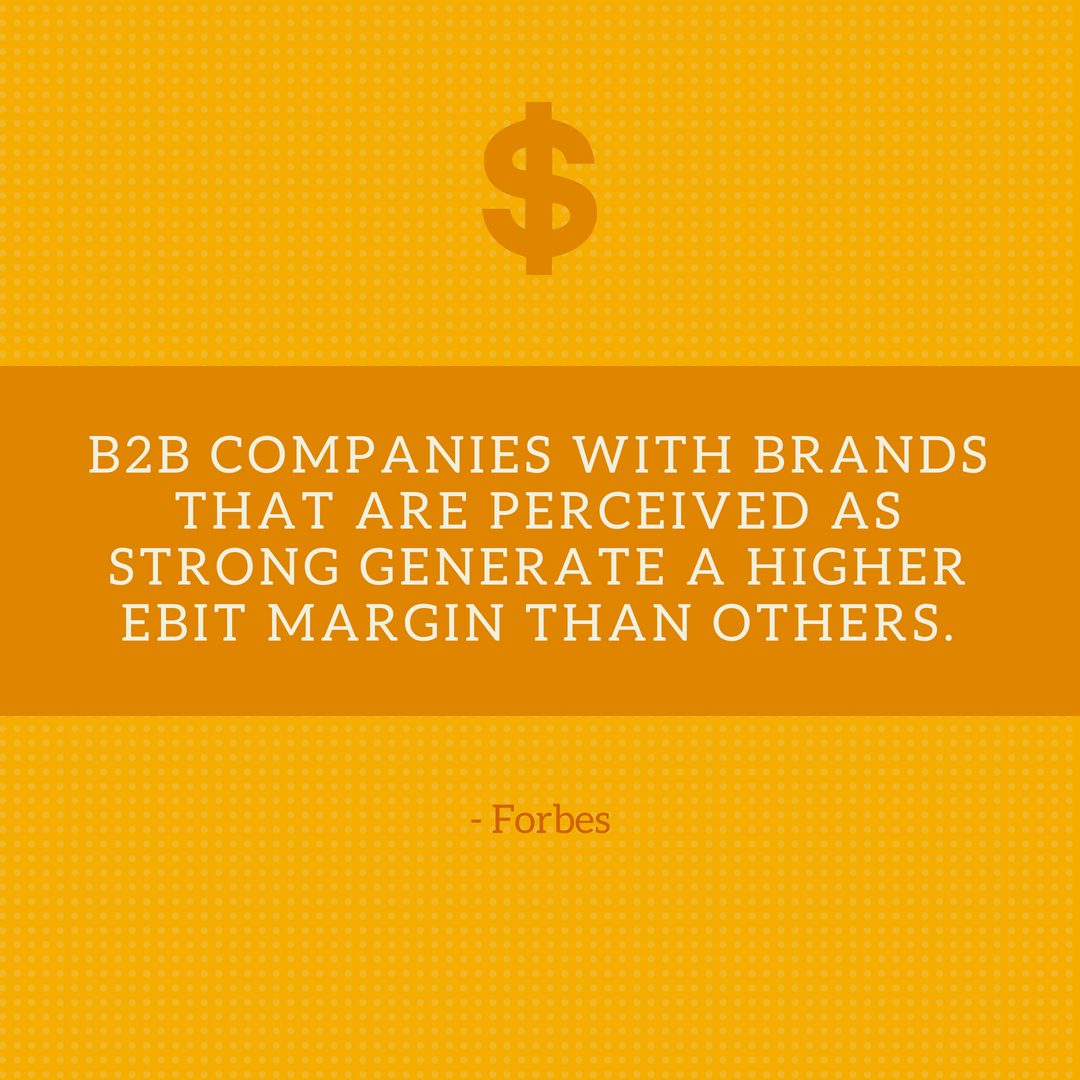 strong brands generate higher EBIT margin