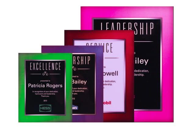 The Splash of Color Plaques