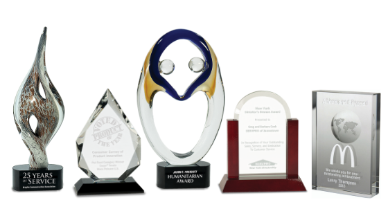 Glass and Crystal Awards