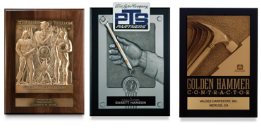 custom detailed plaques