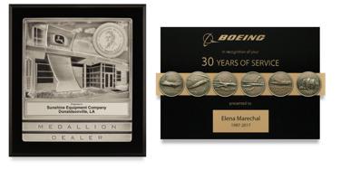 custom relief plaques