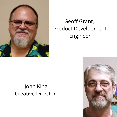 Headshots of Jeff and John