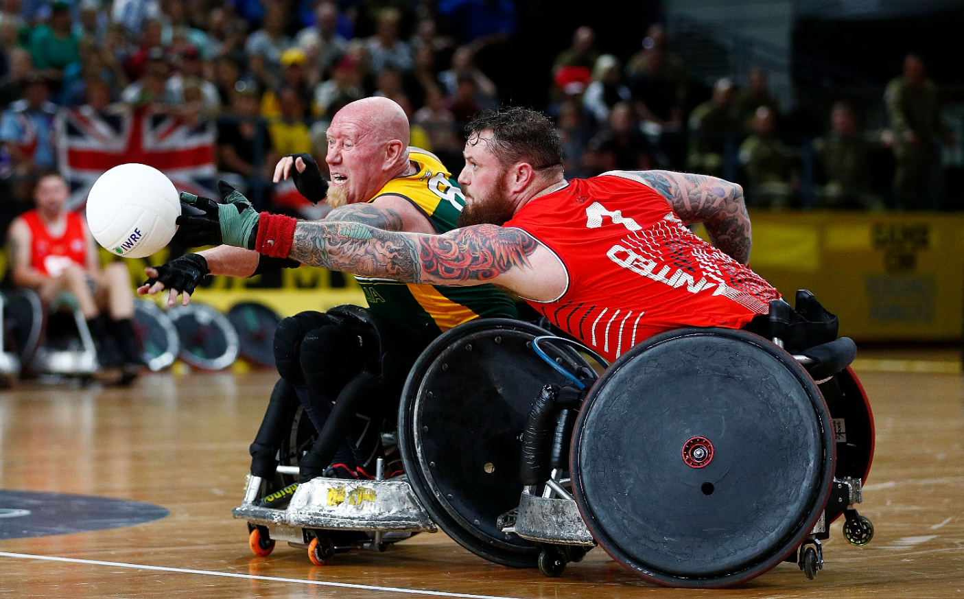 I Am in Production: Invictus Games