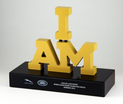 Jaguar Land Rover Invictus Games I Am Rugby Award