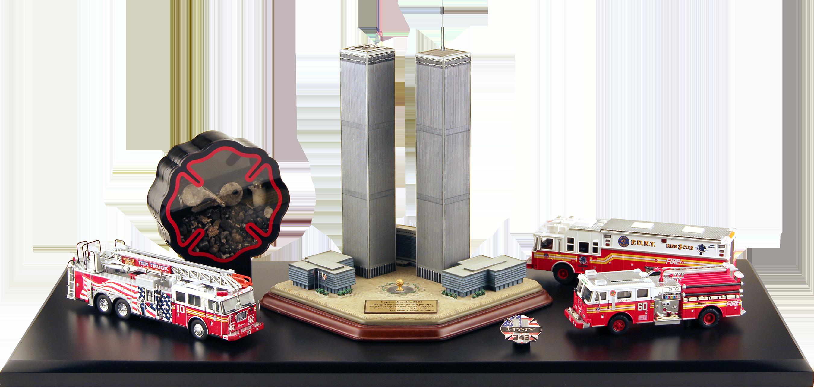9/11 honor display